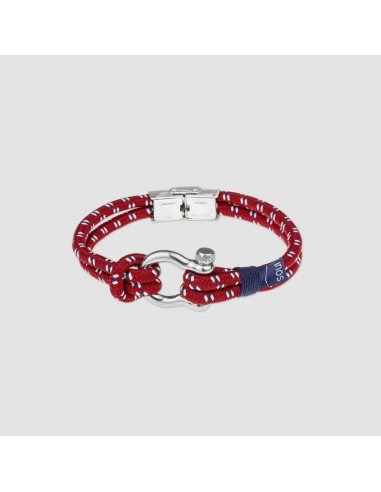 Pulsera Oxford Rojo